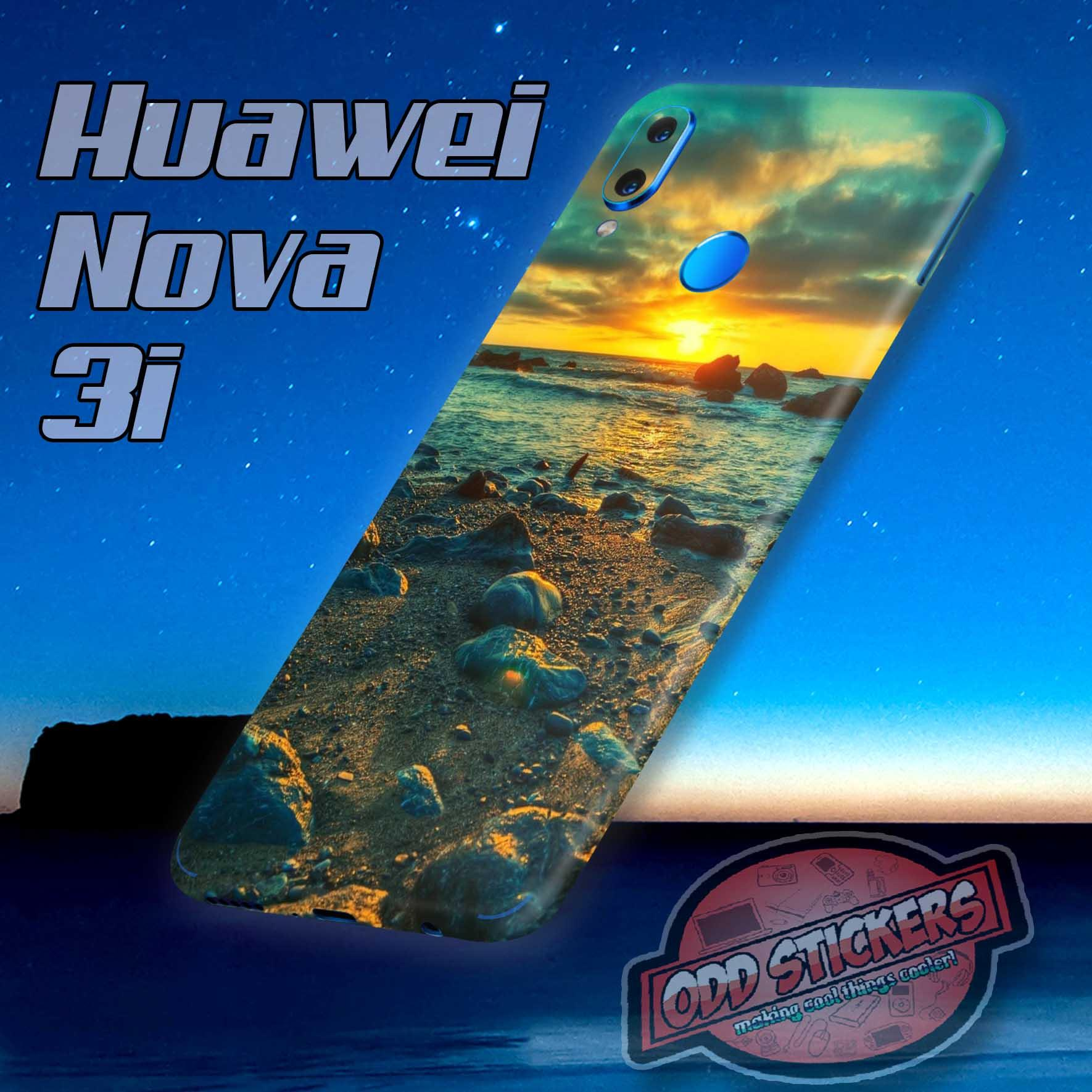 Oddstickers Skin Wrap Cover for Huawei Nova 3i back only (nature)