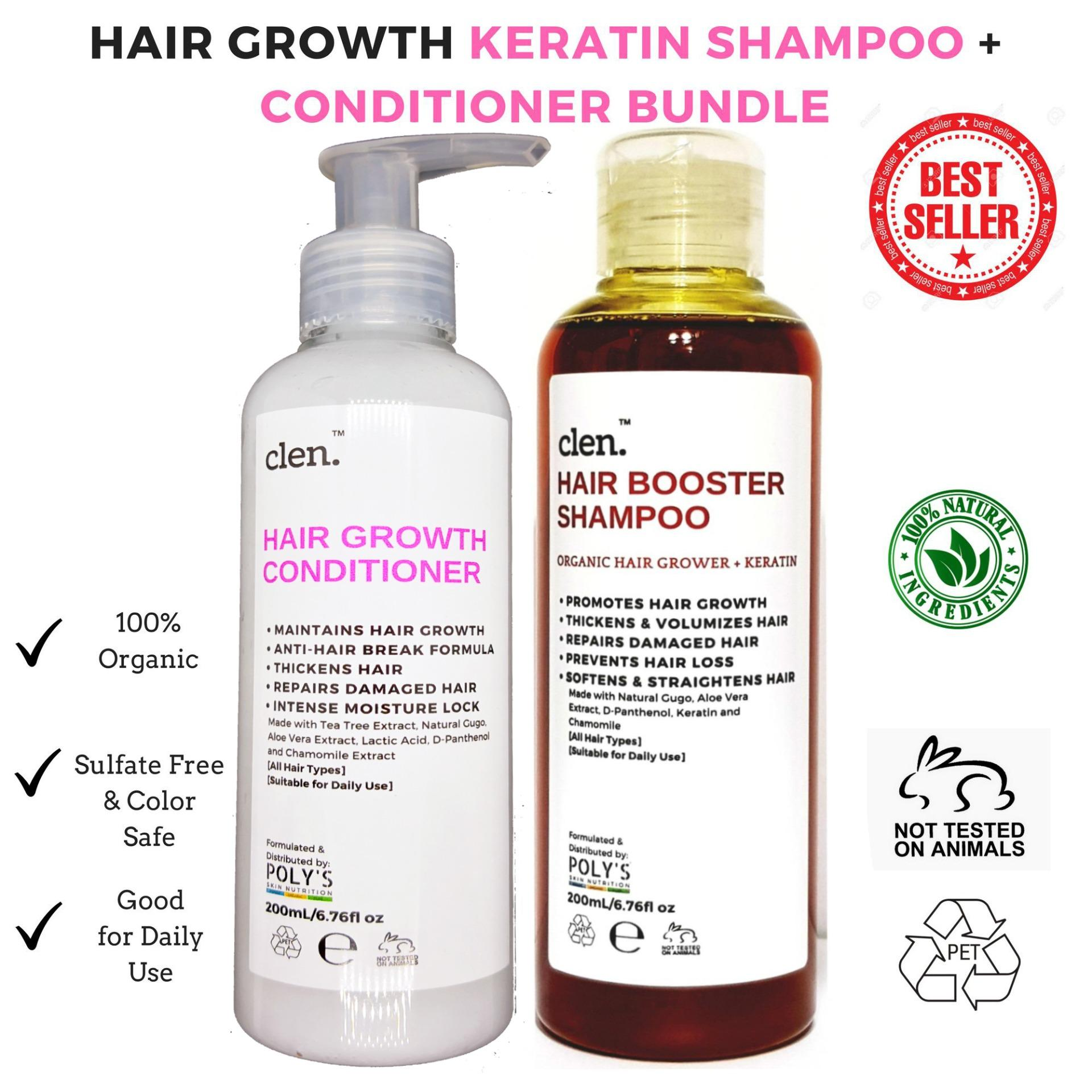 Hair Goals Shampoo Sunsilk Damage Treatment 170ml Grower And Thickener Booster Shampoo200ml Conditioner200ml Bundle By