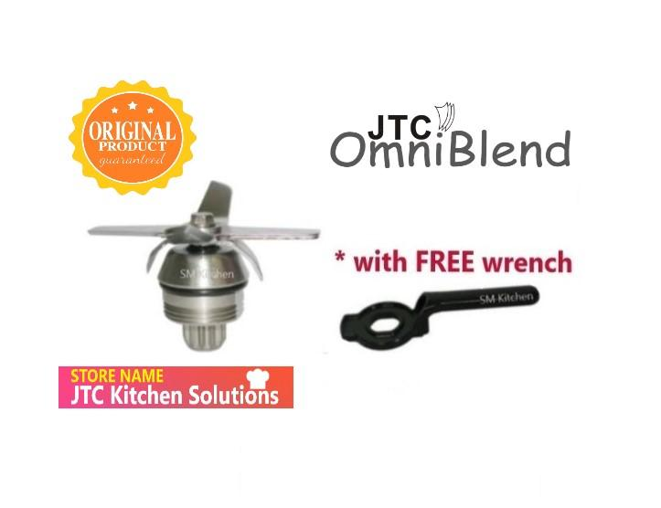 Home Appliances JTC OmniBlend Multipurpose Cutting Blade Assembly with Free Removal Wrench Tool