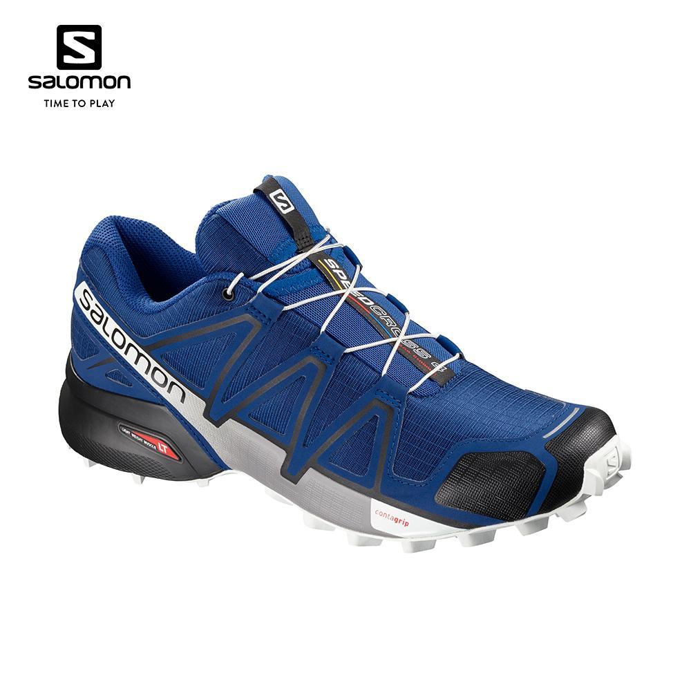 économiser e3678 86b2f Salomon Speedcross 4 Men's Running Shoes (Blue/Black) 404641