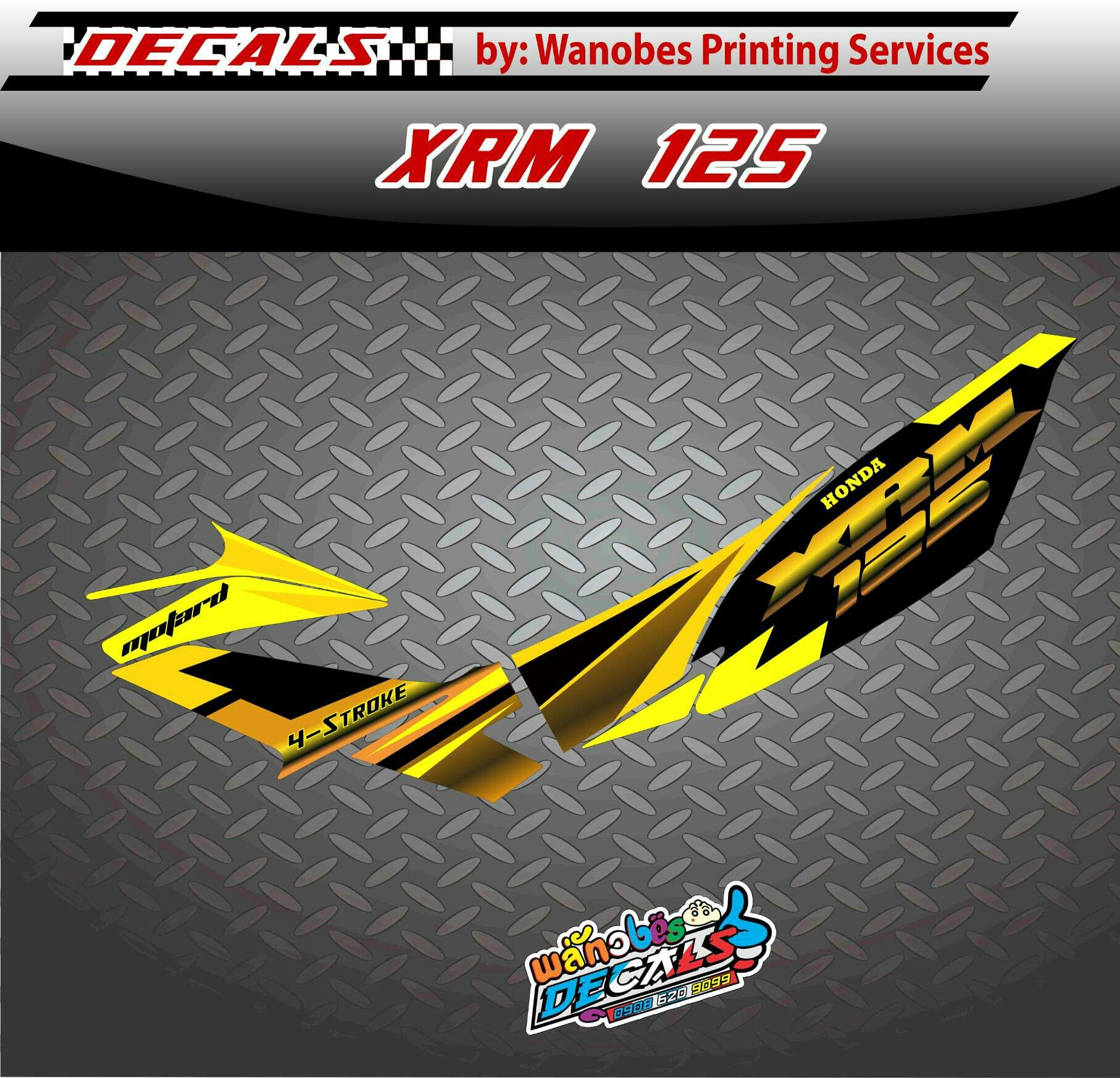 Xrm125 Sticker Design - Mary Rosh