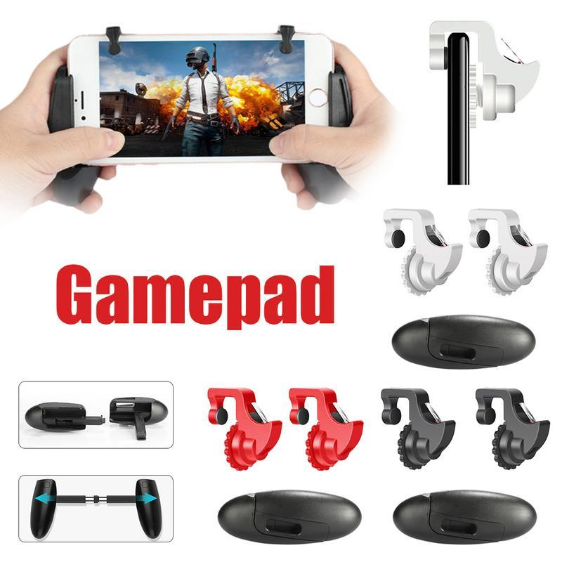 RYT Player Unknown's Battlegrounds Mobile Games Controller Gamepad Set Black