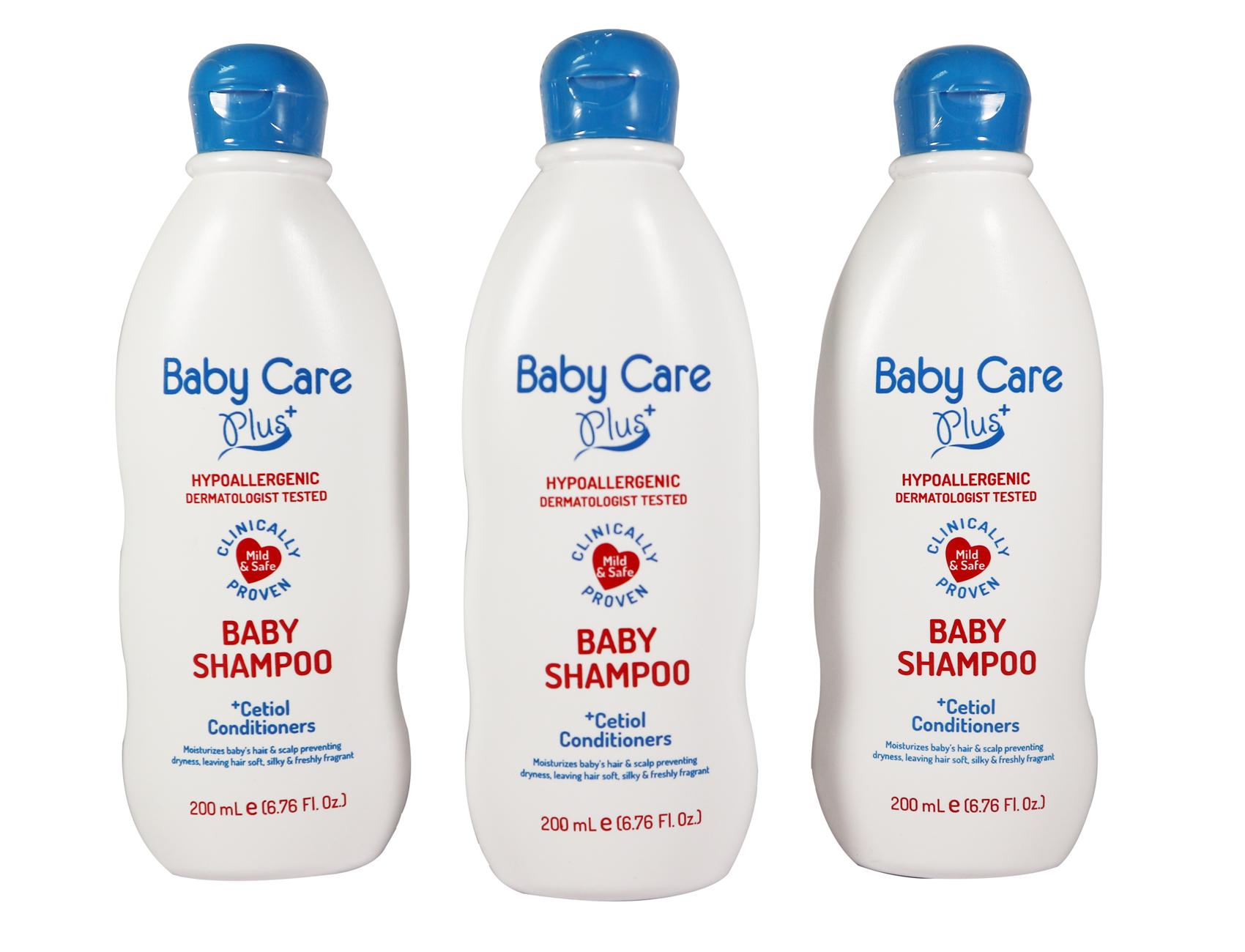 Baby Care Plus Baby Shampoo Set of 3 200mL