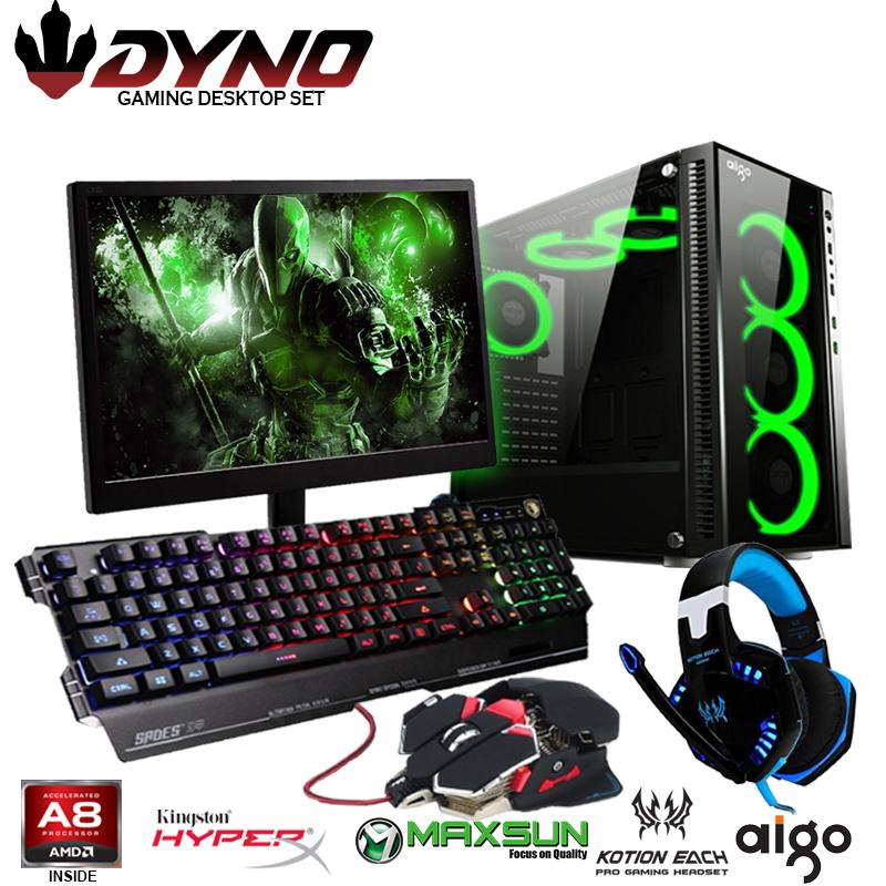 DYNO Desktop AMD A10-7700K Gaming Computer Package D
