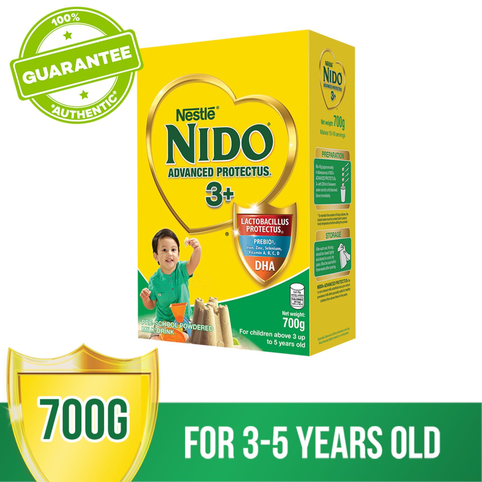 Nestlé® NIDO® ADVANCED PROTECTUS® 3+ Pre-School Powdered Milk BIB 700g