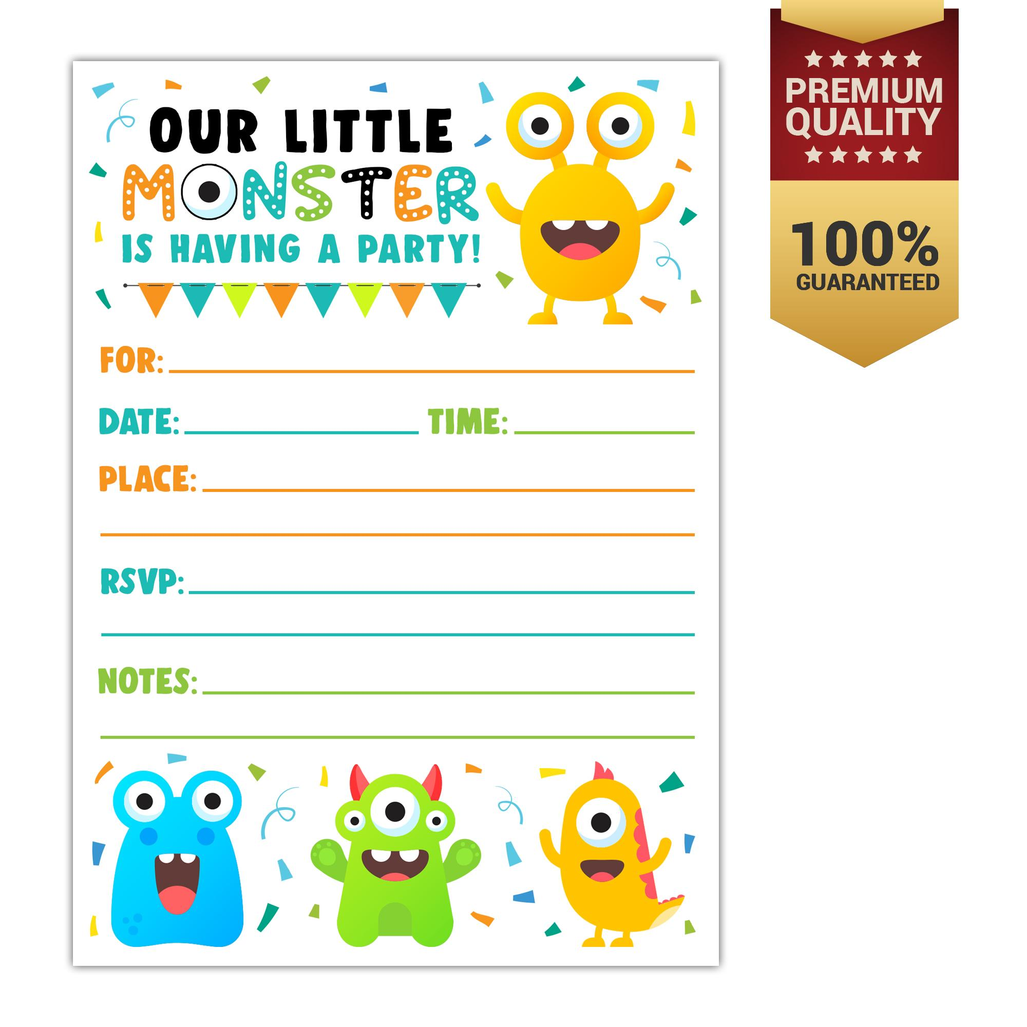 Raymond Party Invites Online Shop
