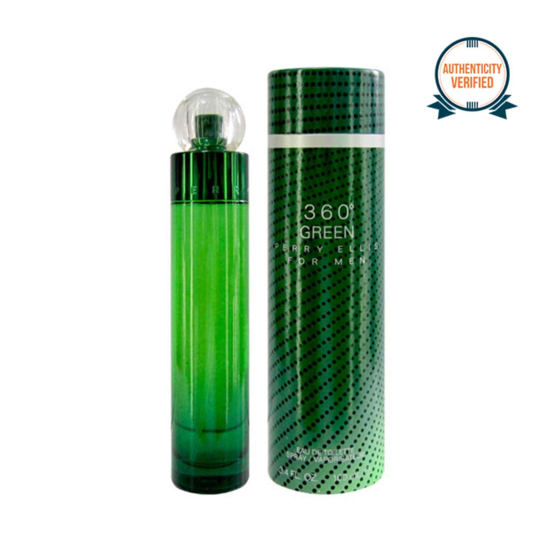 Perry Ellis 360 Green Eau de Toilette for Men 100ml