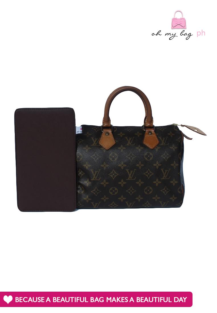 Ohmybag Base Shaper for Louis Vuitton Speedy 25 (Brown)