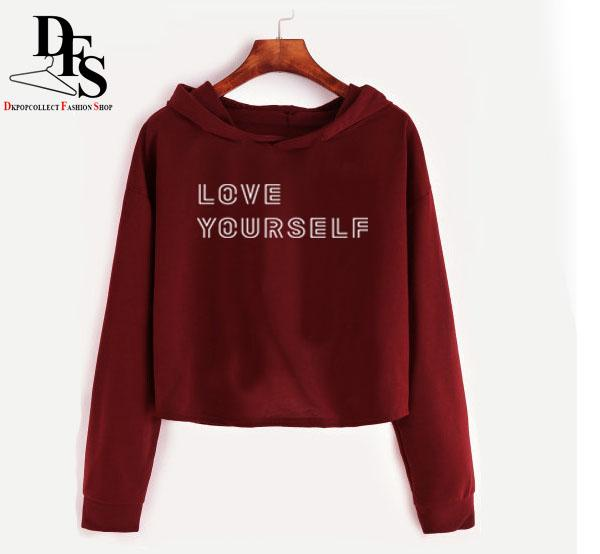 a777bc448ce NEW Love Yourself Croptop Pullover Jacket | Lazada PH