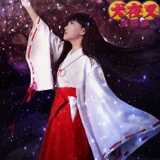 Một Bộ Đầy Đủ Của Inu Yasha Cosplay Trang Phục JIEGENG HOME Cos Ki-mô-nô Anime Nhật Bản Đạo Cụ