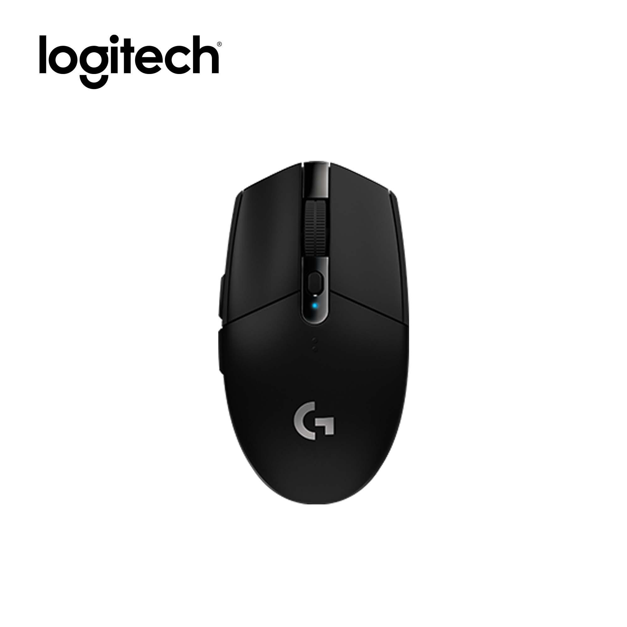 Logitech G304 Next-Generation Lightspeed Wireless Gaming Mouse,Hero Sensor max 12,000 DPI, 6 Buttons, Ultra Lightweight, USB receiver