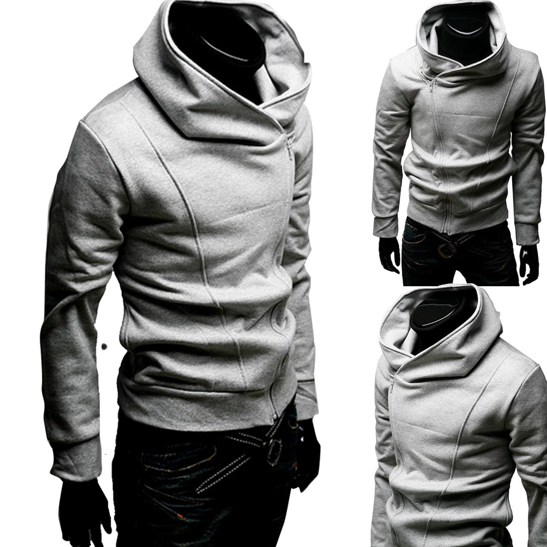 Slim Fit Hooded Jacket Slim Fit Zipped Jacket Zip Hooded Jacket