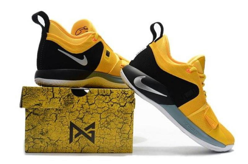 sneakers for cheap 3714e c4c6d Training Shoes Wholesale Price Nike_ Paul George PG 2.5 Yellow Black White  Men's Basketball Shoes High Quality