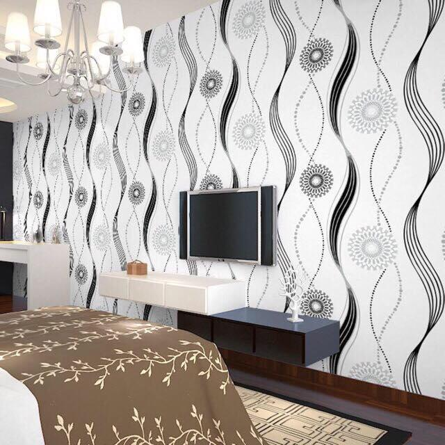 Home Waterproof Pvc Self Adhesive Wallpaper Bedroom Warm Wall Stickers Living Room Dormitory Stickers Background Wall Paper Decorative Painting 10meters X 45cm Lazada Ph