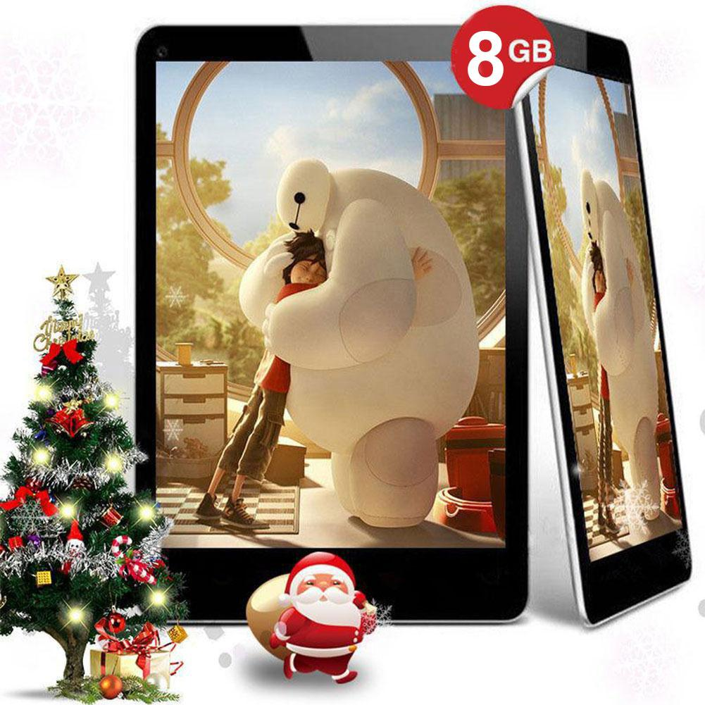 N98 9 Inch Android 4.4 Tablet PC Allwinner A33 Quad Core 1GB+8GB US Plug White