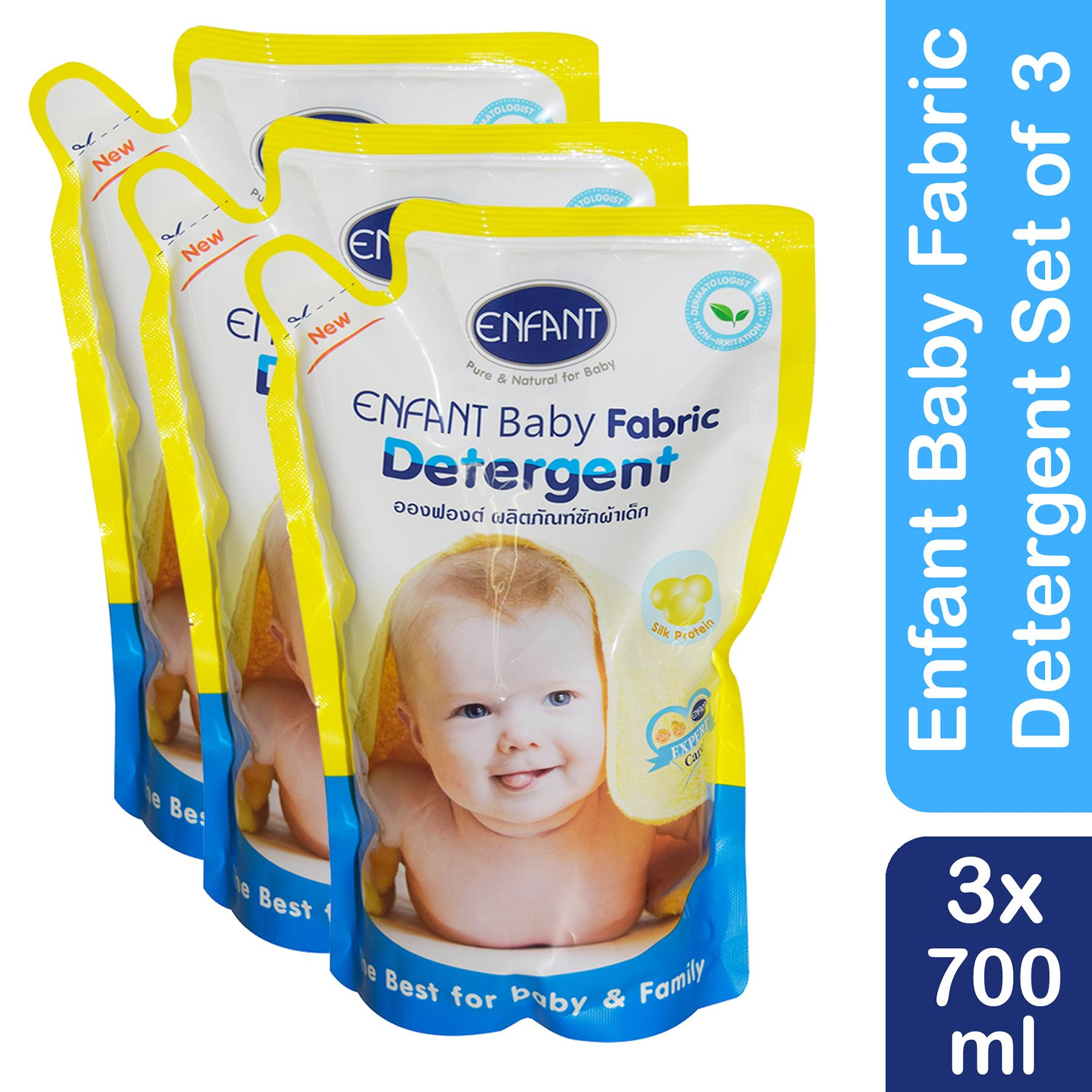 Enfant Extra Care Fabric Detergent 700 ml (pack of 3)