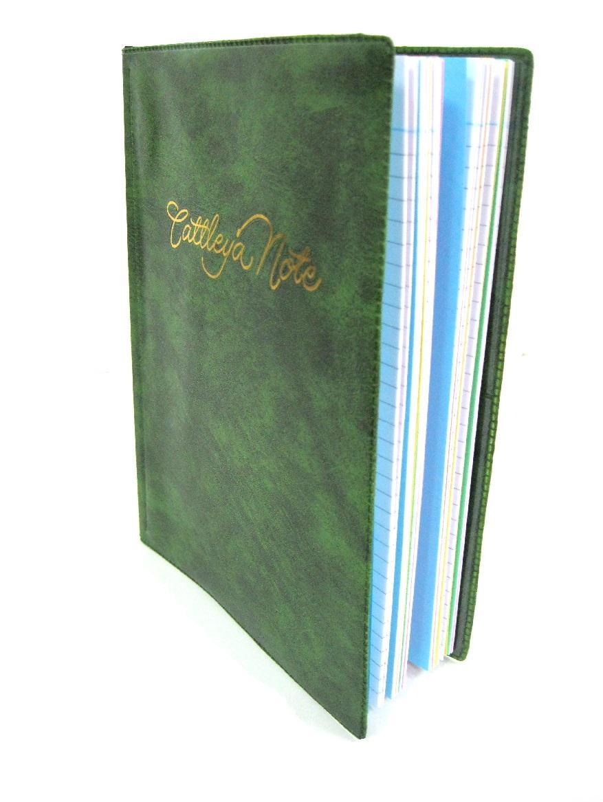 Cattleya Notebook Binder 160 Pages Size 6 X 8 12
