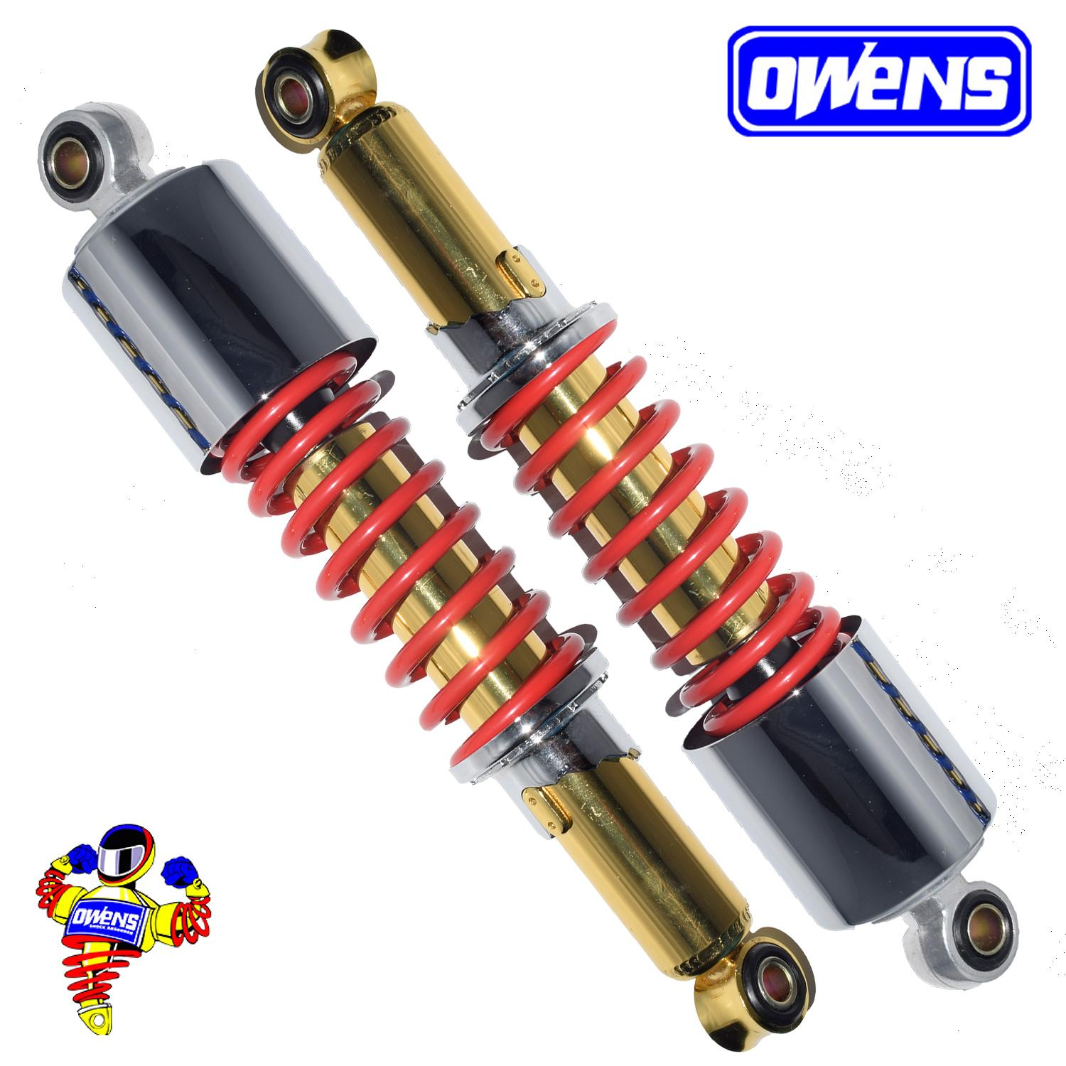 Owens URC2 Shock Absorber (Gold/Red)