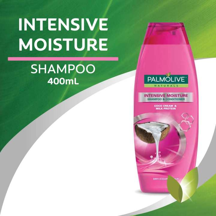 Palmolive Naturals Intensive Moisture Shampoo (dry coarse hair) 400ml