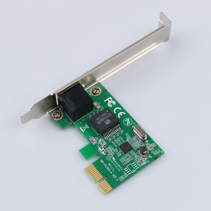 10/100/ Ethernet PCI Express PCI-E Network Controller Card RJ45 Lan Adapter Converter.