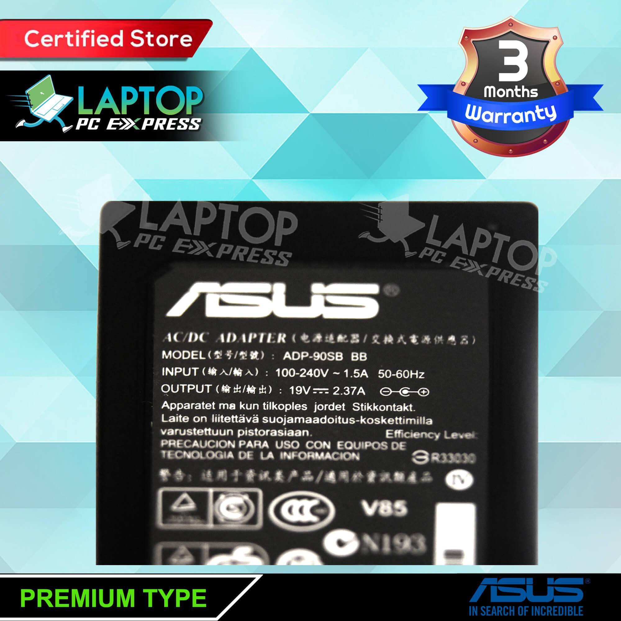 Asus Laptop Charger 19v 237a 55mm X 25mm Lazada Ph Adaptor Original X451 X451c X451ca