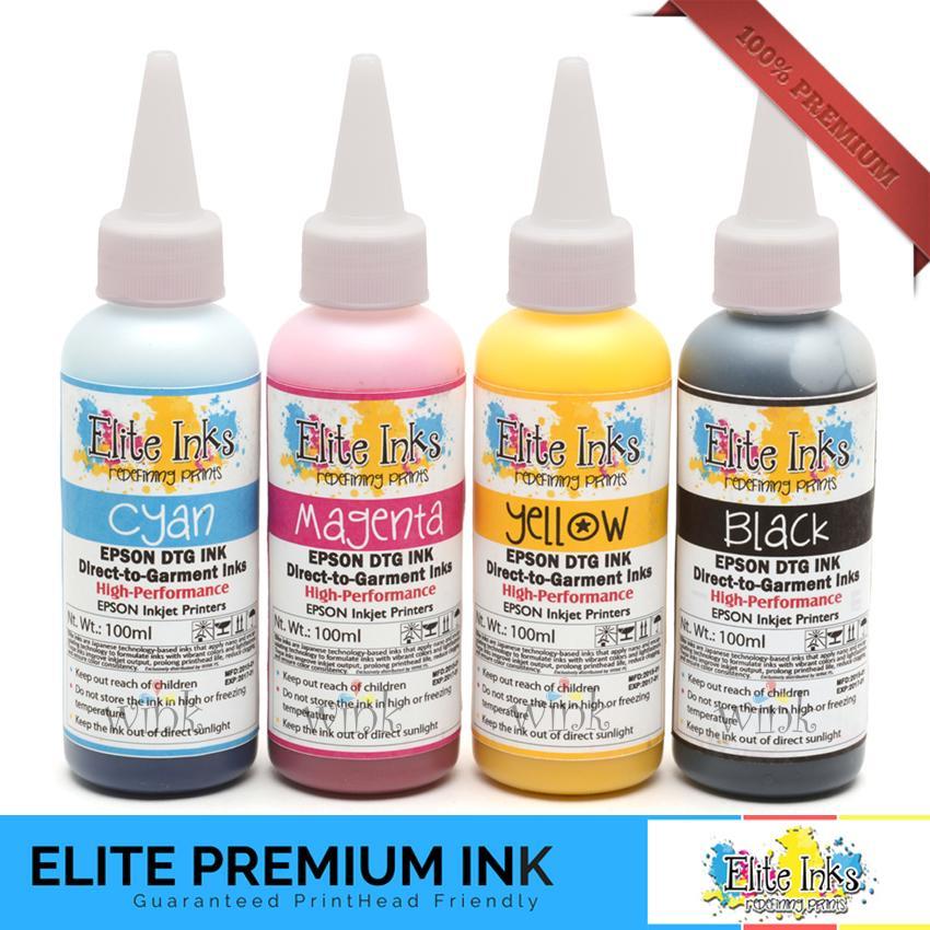 Epson L120 with Elite Premium Textile Pigment Inks - Printer Package