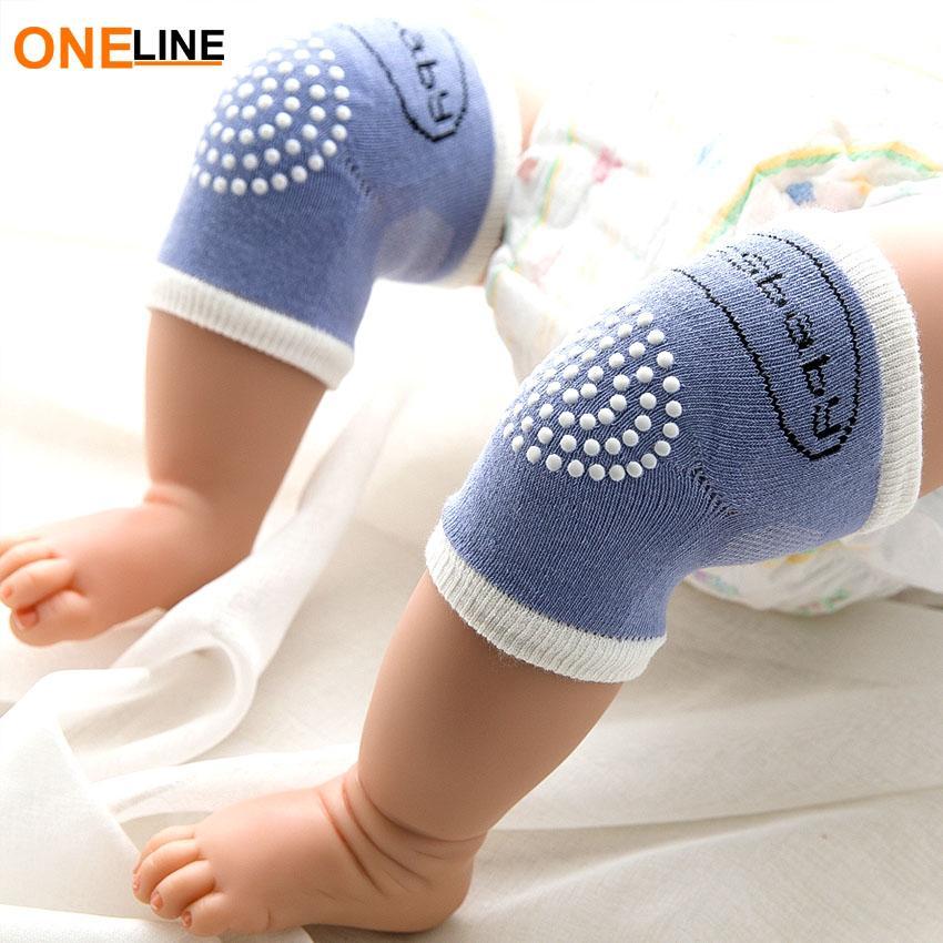 1 Pairs Cartoon Unisex Baby Kneepads Baby Crawling Knee Pads Knee Pad Protector