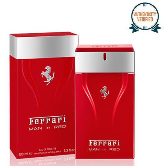 Ferrari Man in Red Eau de Toilette for Men 100ml