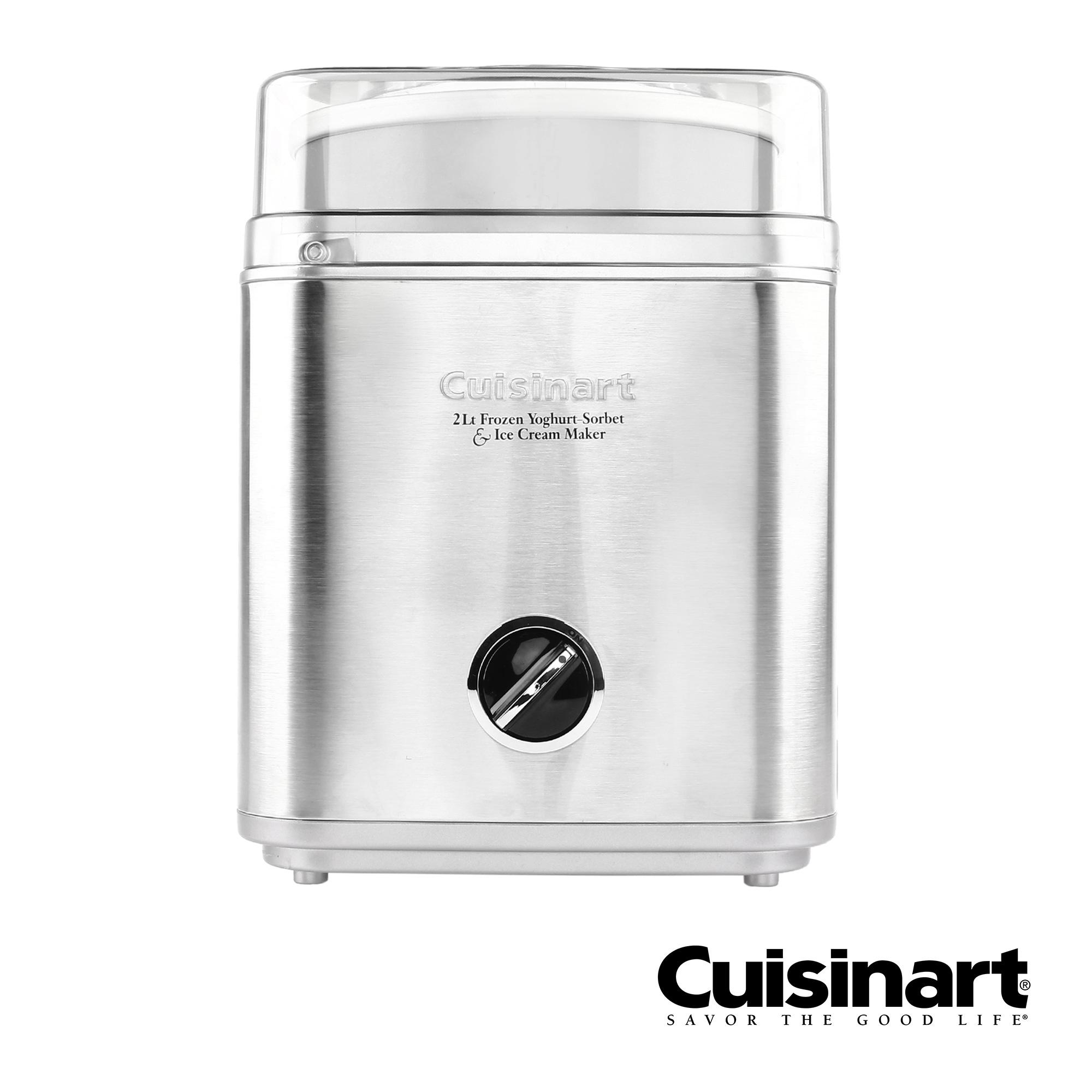 and Ice Cream Maker Cuisinart ICE-30BC 2 Quart Automatic Frozen Yogurt Sorbet
