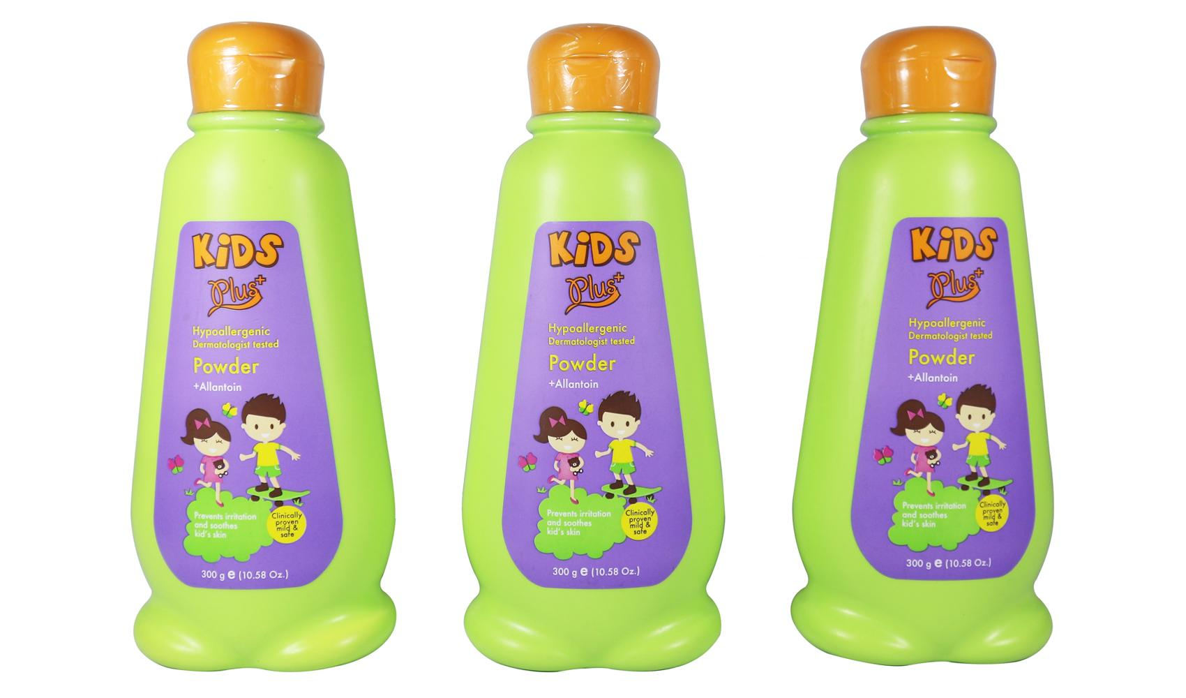 Kids Plus Powder Set of 3 300g