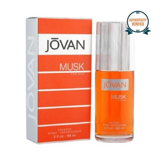 Jovan Musk Eau de Cologne for Men 88ml product preview, discount at cheapest price