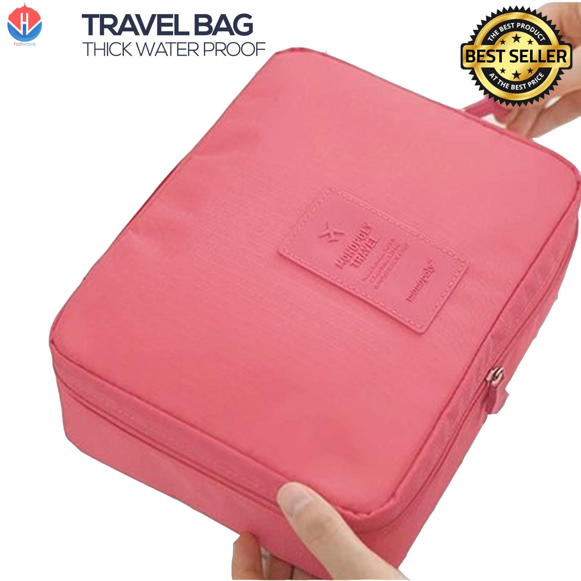 Travel Multi Pouch Ver.2/Cosmetic Organizer Bag/ Pouch (Pink)
