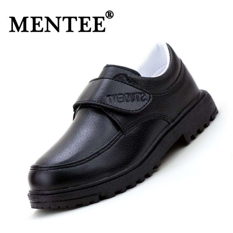 MENTEE Boys Leather Shoes Children