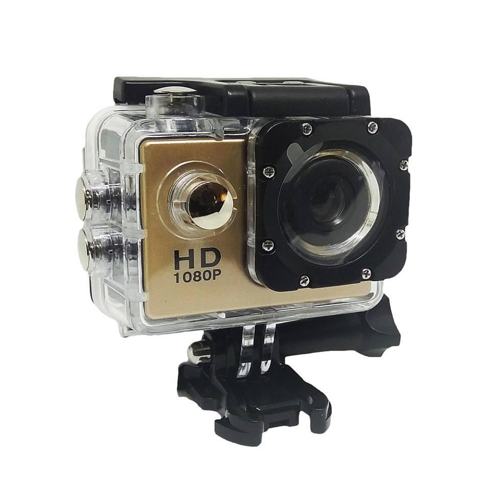 Full HD 1080P 2 inch Screen Sports Camera (Gold)