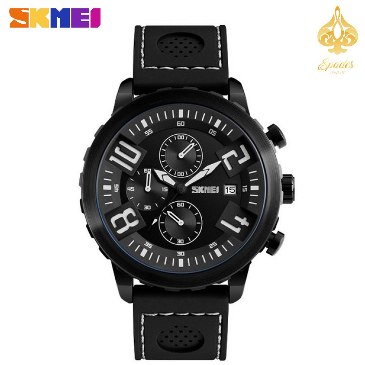 SKMEI 9153 Fashion Sports Watches Men (Black)