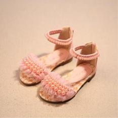 Kiểu Hàn Quốc Mùa Xuân Và Mùa Hè Mẫu Mới Cô Gái Giày Trẻ Em Dép Lê