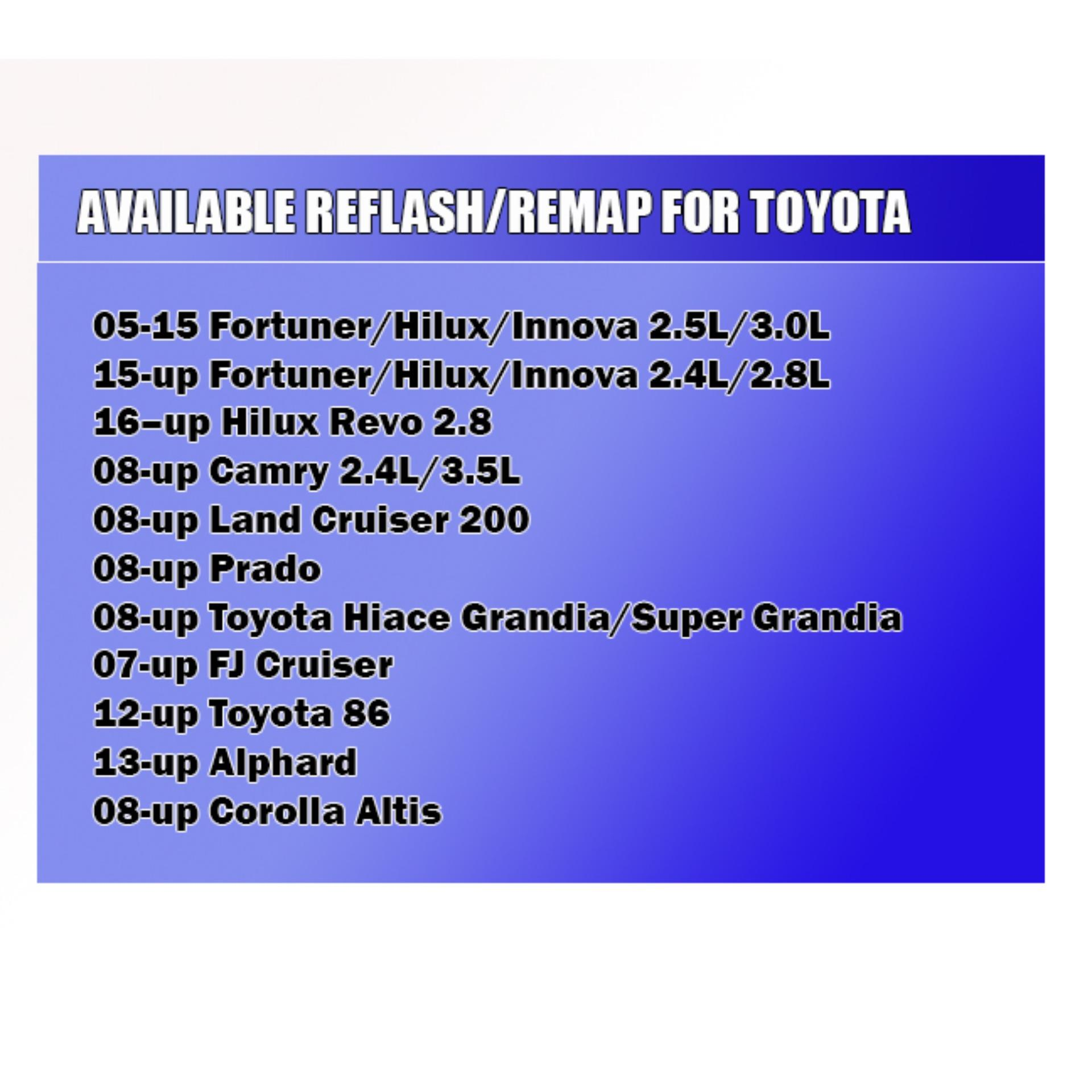 Speedlab Toyota Reflash/Remap/ECU Tuning Appointment/Reservation