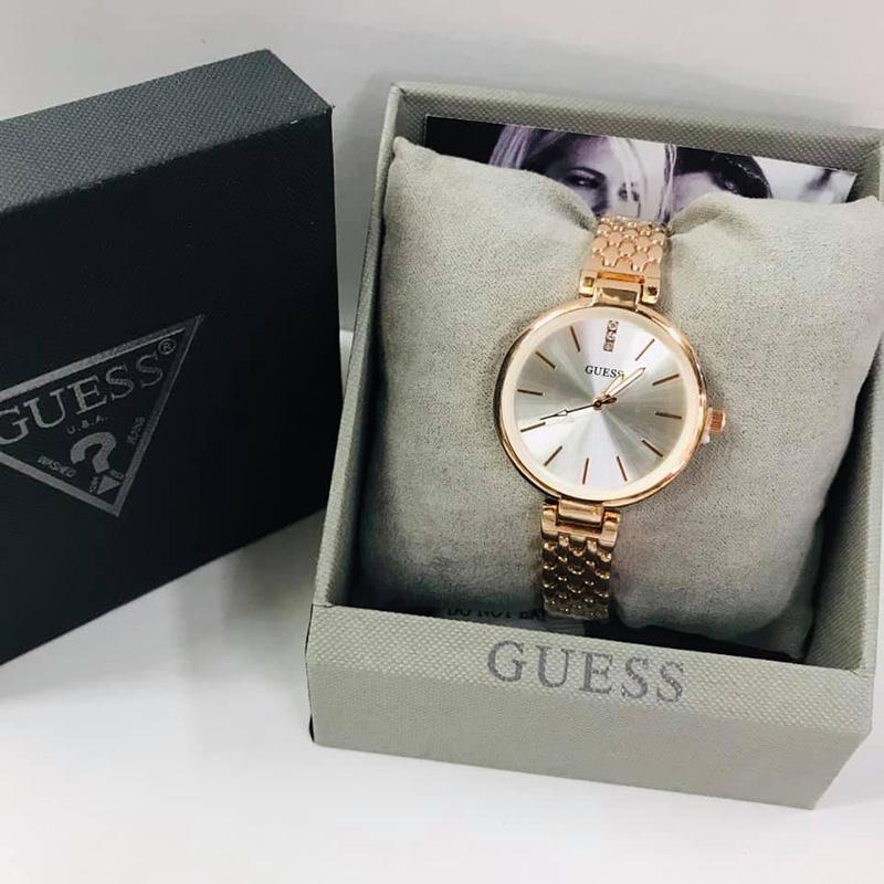 Guess Womens Sophisticated Slim Watch