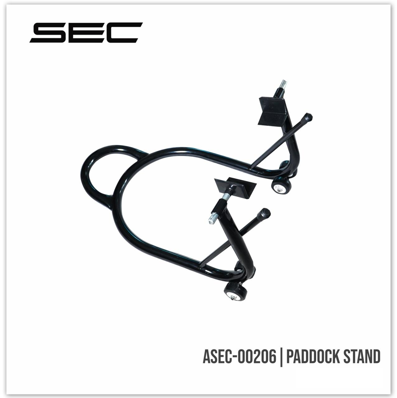 Asec 00206 Universal Motorcycle Paddock Stand Black Lazada Ph New Cbr150r