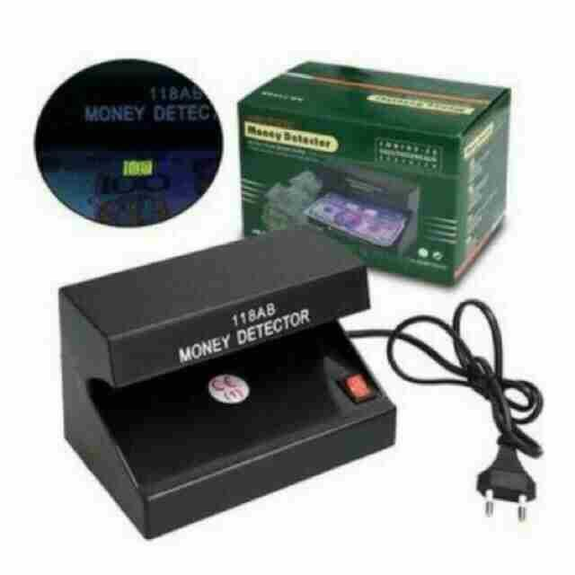 Electronic UV Light Money Detector Bill Currency Authenticity Checker