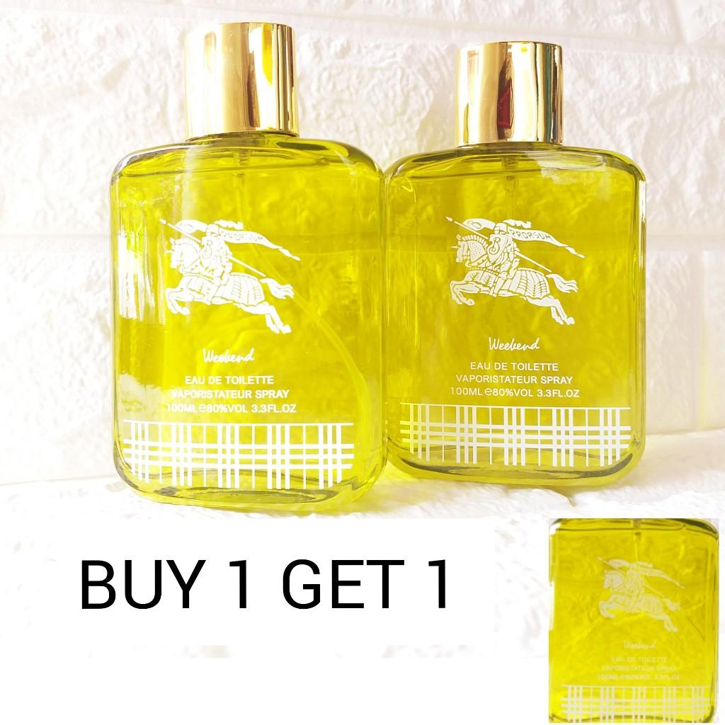 BURBERRY WEEKEND MENS PERFUME PROMO SET OF 2 PIECES