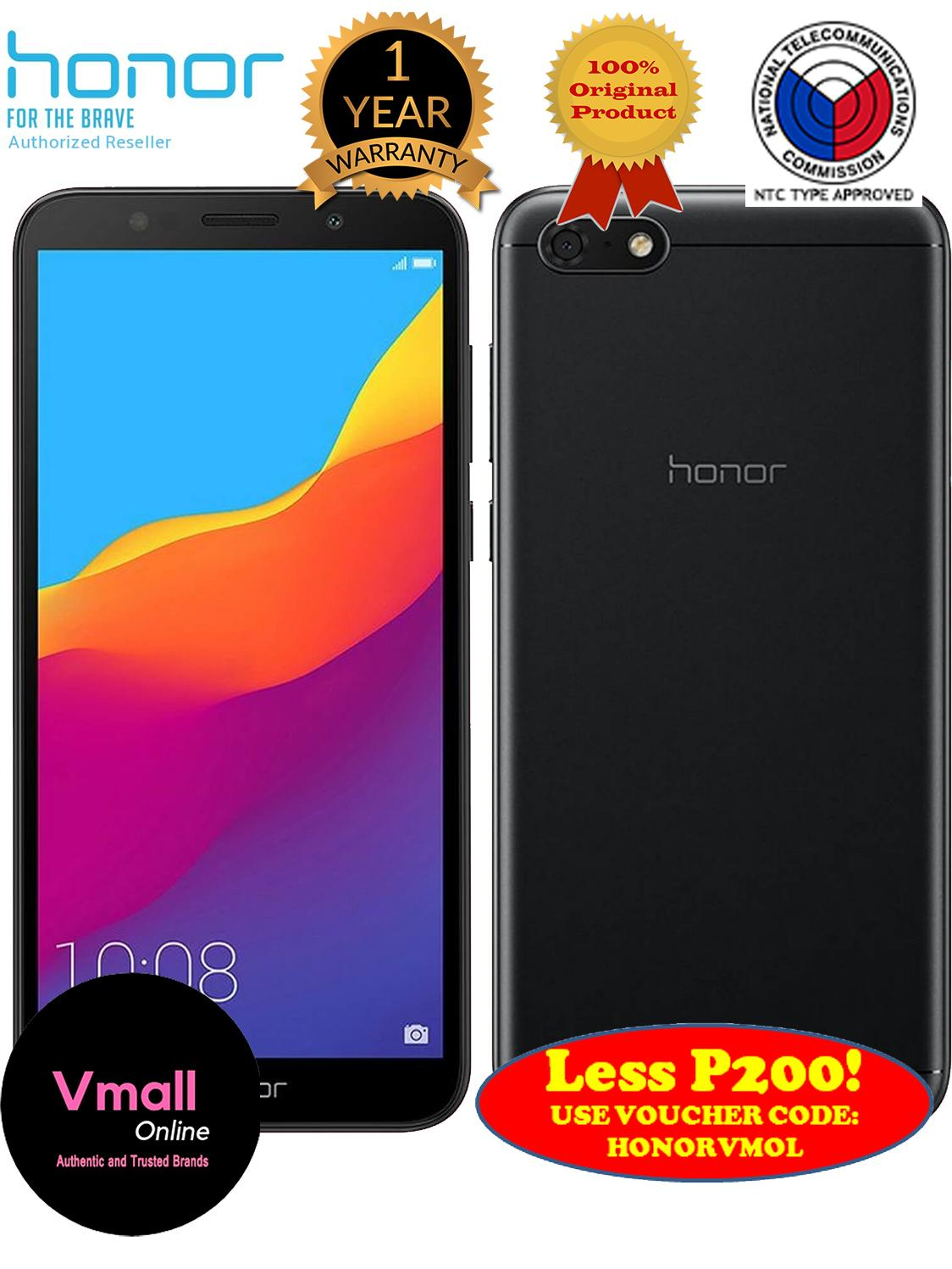 "HUAWEI HONOR 7S 5.45"" Dual SIM, 16 GB  13 MP Camera"