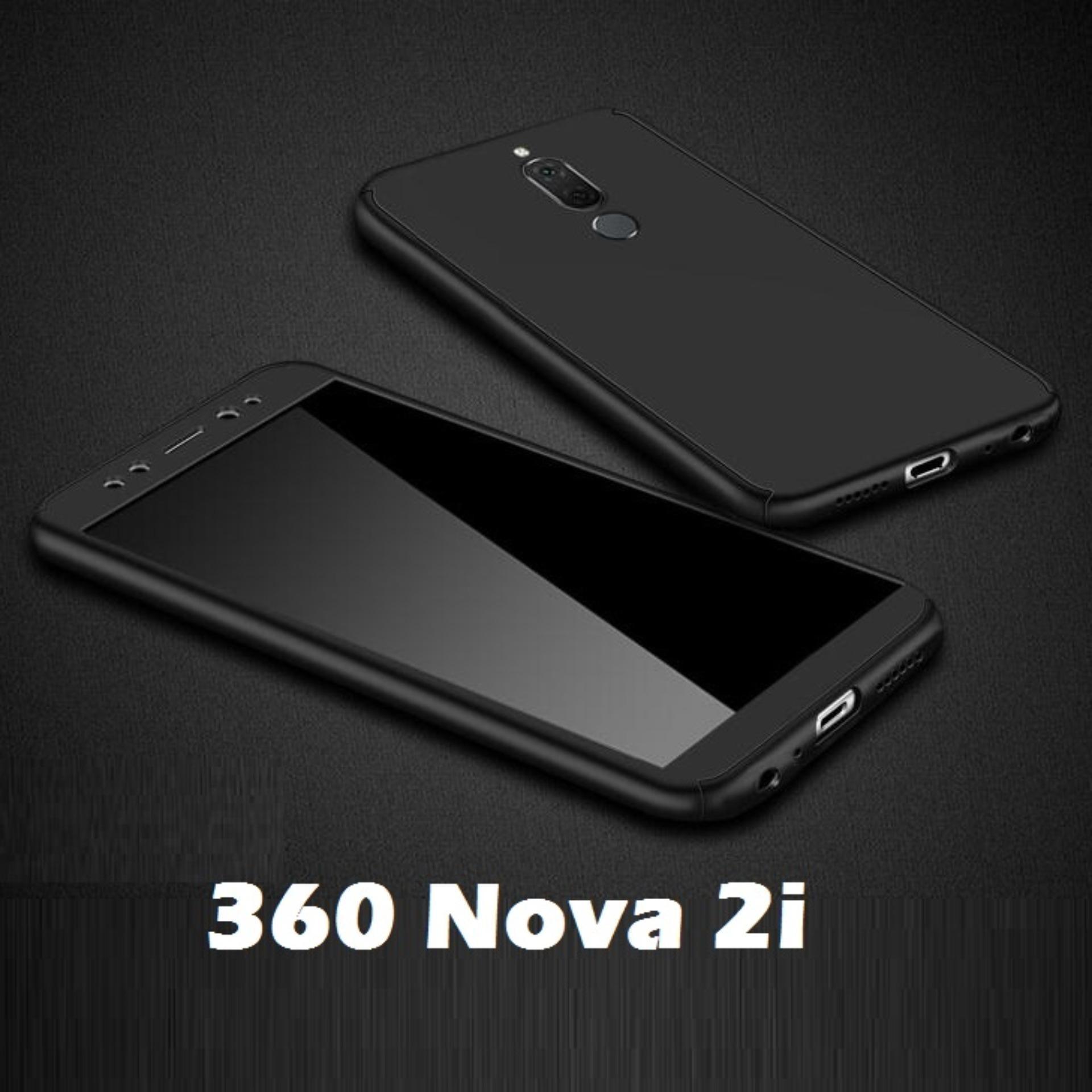 best service 36326 a21de Huawei Nova 2i Case 360 Full Body Protection Double Dip Hard Matte PC Cover