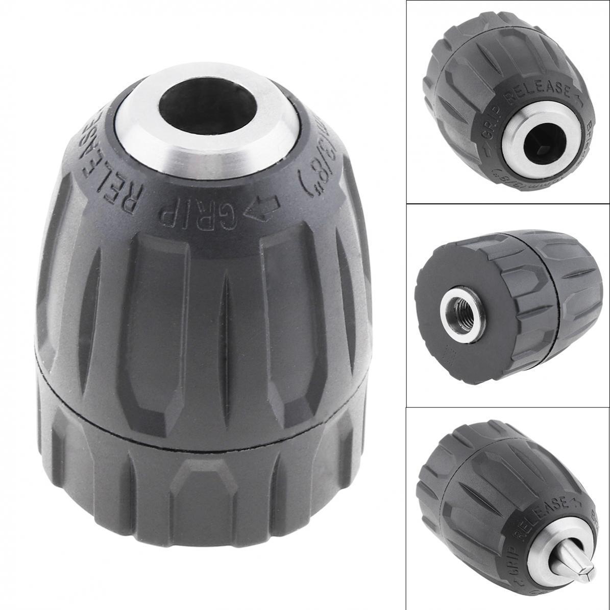 3//8-24UNF Connect 0.8mm-10mm Capacity Plastic Housing Keyless Drill Chuck