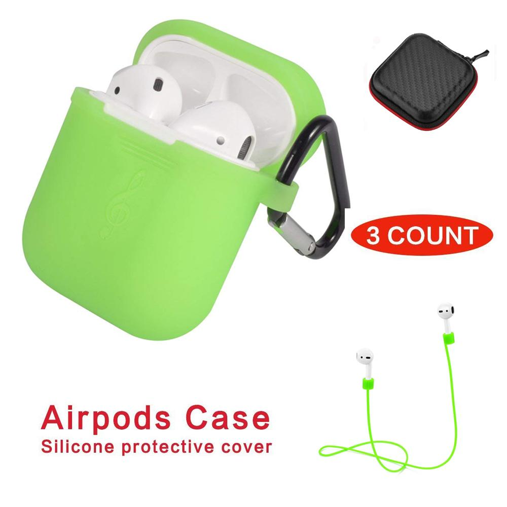 AirPods Case Protective Silicone Cover and Skin for Apple Airpods Charging Case plus - intl | Lazada PH