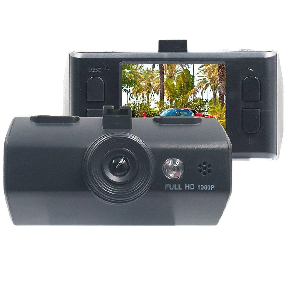 BELLE Single Lens 720P HD Night Vision Car DVR 2.0-Inch Display Screen Carcorder black