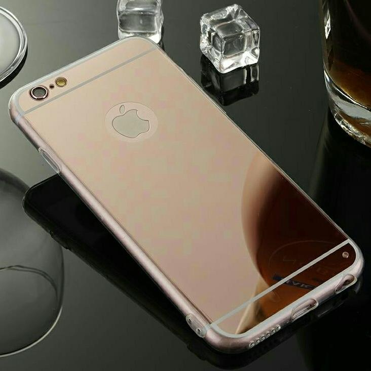 promo code 72abc ce876 Mirror Jelly Case for iPhone (4 COLORS)