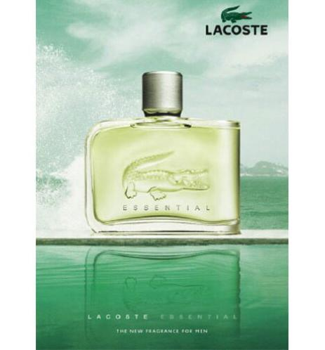 Authentic Tester Lacoste Essential Eau de Toilette for Men 125ml