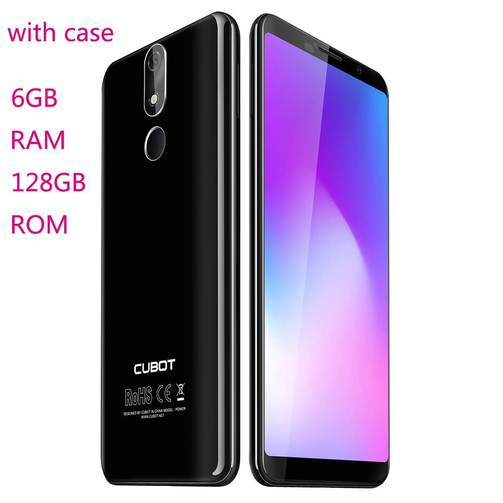 CUBOT POWER 4G 5.99 inch Android 8.1 MTK6763T Octa Core 6GB RAM 128GB ROM with Fingerprint unlock