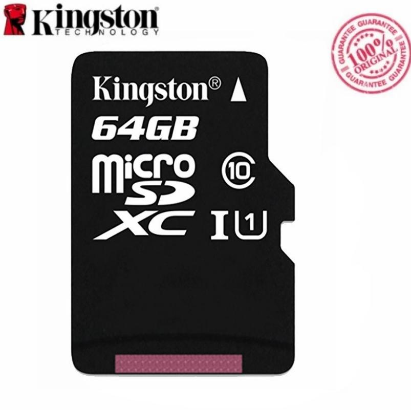Kingston Hot Sell 64GB Micro SD Card 128GB MicroSDXC Memory Card Class 10 Mini SD Card MicroSDHC TF